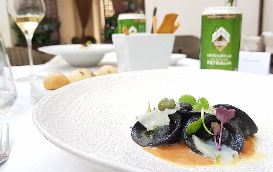 Palazzo Branciforte: Sale Integrale da una salina naturale nel piatto!